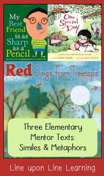 mentor monday similes and metaphors