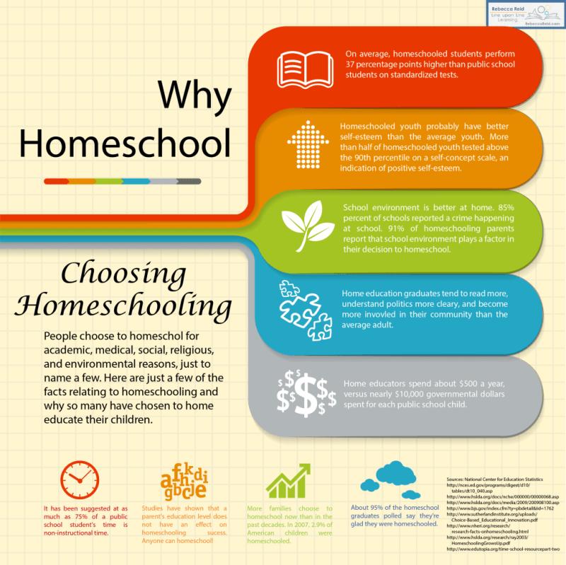 why homeschool infographics