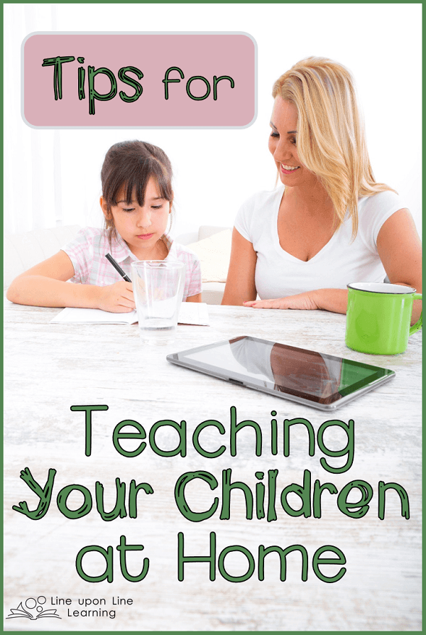 teaching your children at home