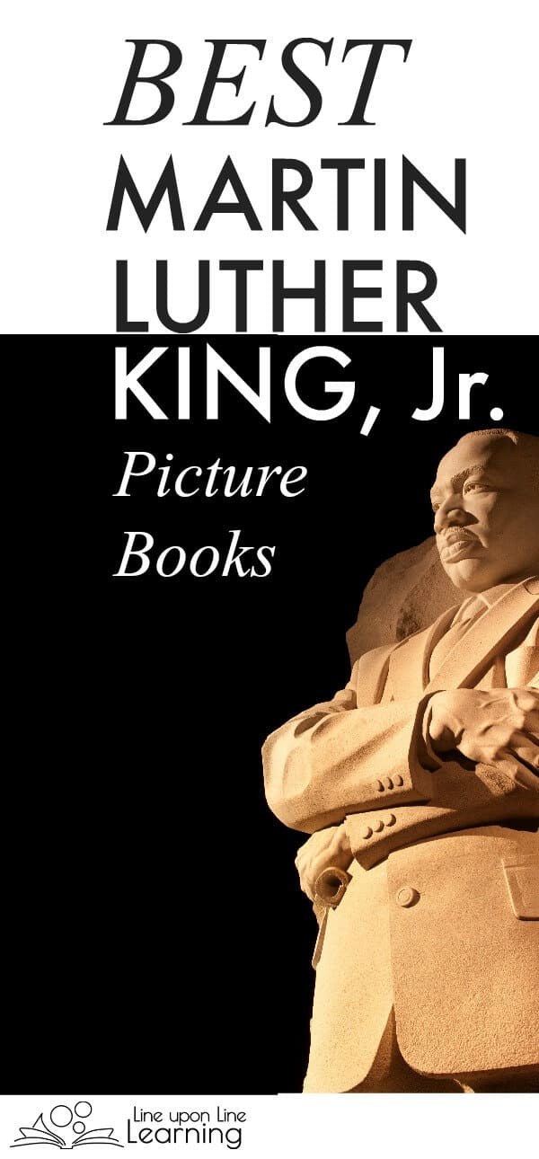 I'm searching for the best Martin Luther King picture book, and these are some of the finalists.