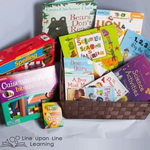 Enter to win this Kindergarten Learning Gift Basket on the Line upon Line Learning blog. Only until August 21, 2016.
