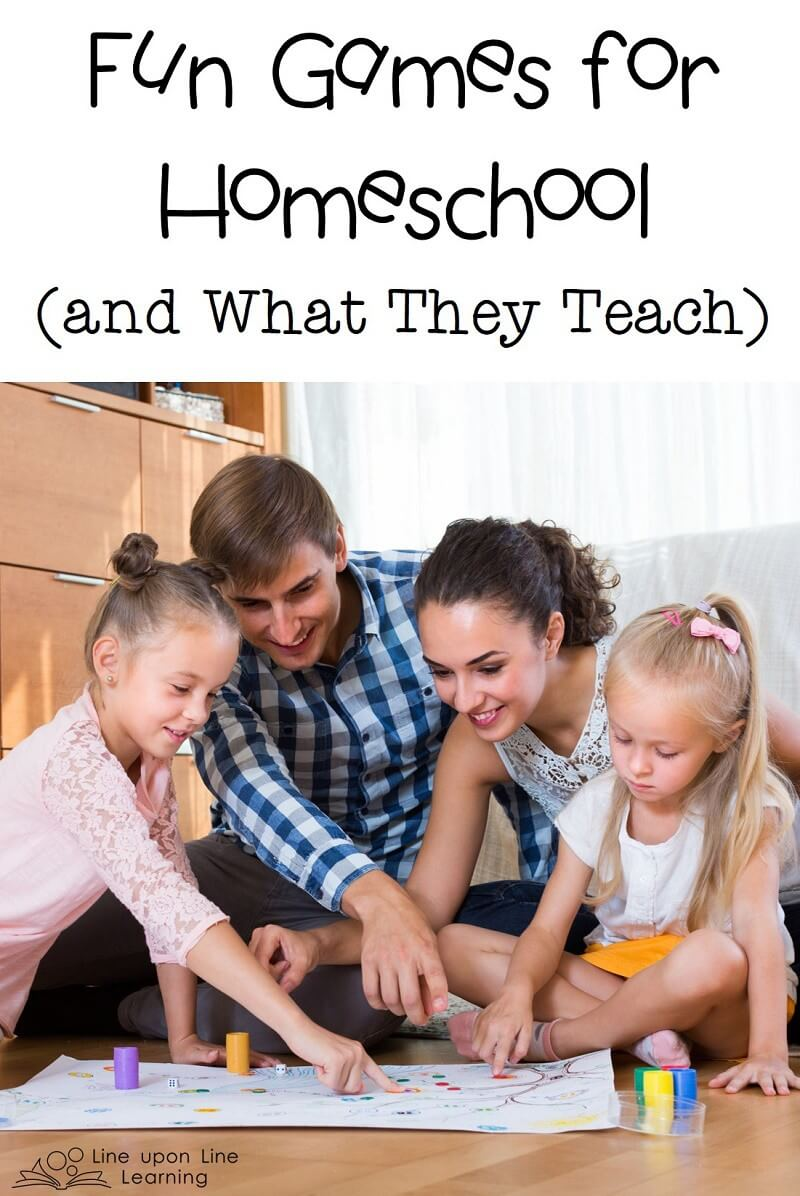 You'd be surprised what we can learn in our homeschool....simply by playing fun games!