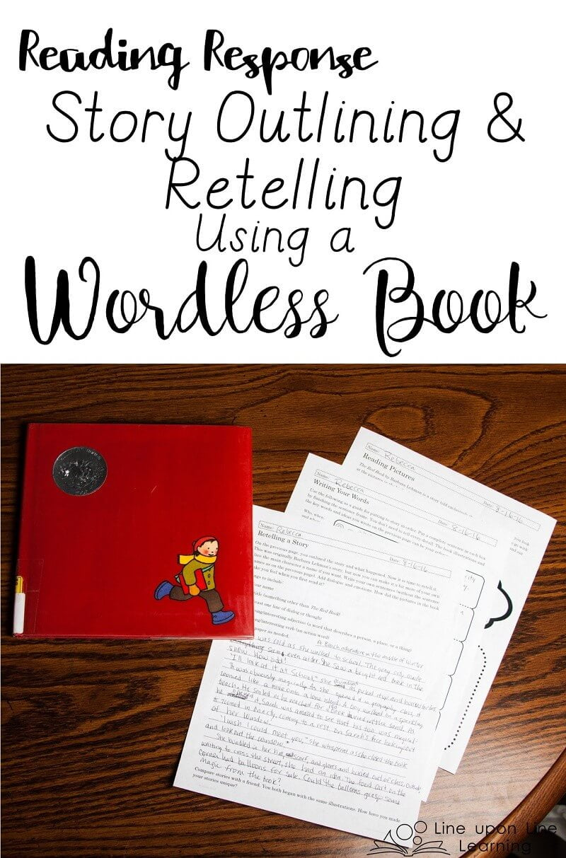 By outlining the main plot points of The Red Book, students can practice outlining a story. Then they can retell it in their own style.