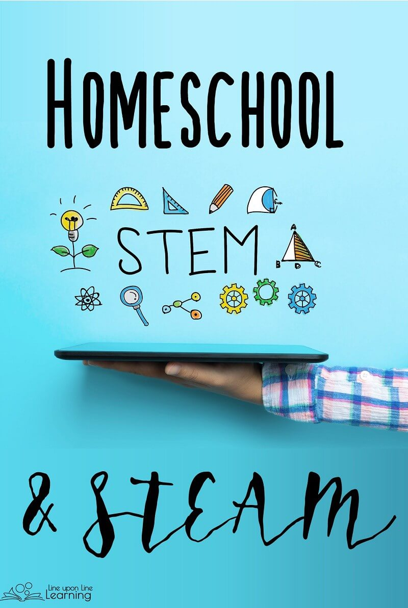 Homeschooling is super fun when you incorporate STEM and STEAM activities!