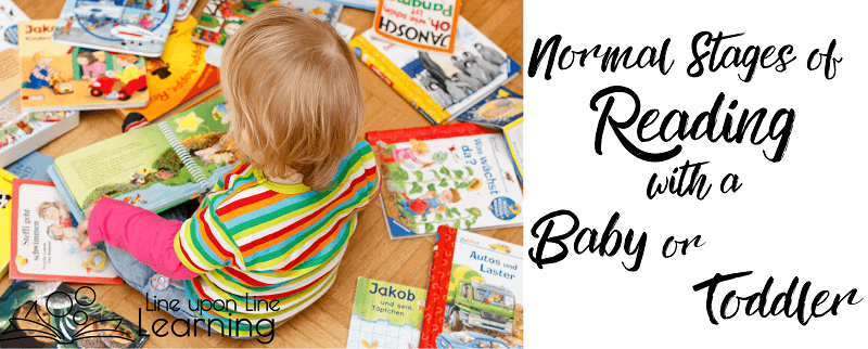 Babies may start by eating and ripping a book, but if you regularly read with your baby and toddler, she will eventually try reading to herself!