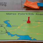 In our Marco Polo Silk Road game, we might make it through the desert without meeting disaster!