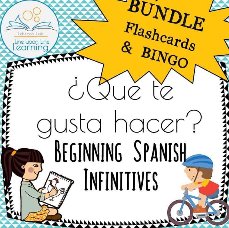 spanish infinitives BUNDLE