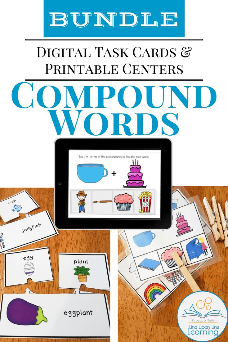 Compound Word Digital & Print Bundle