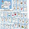 alfabeto espanol Wall Cards BLUE -- DEMO