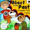 irregular past tense COVER