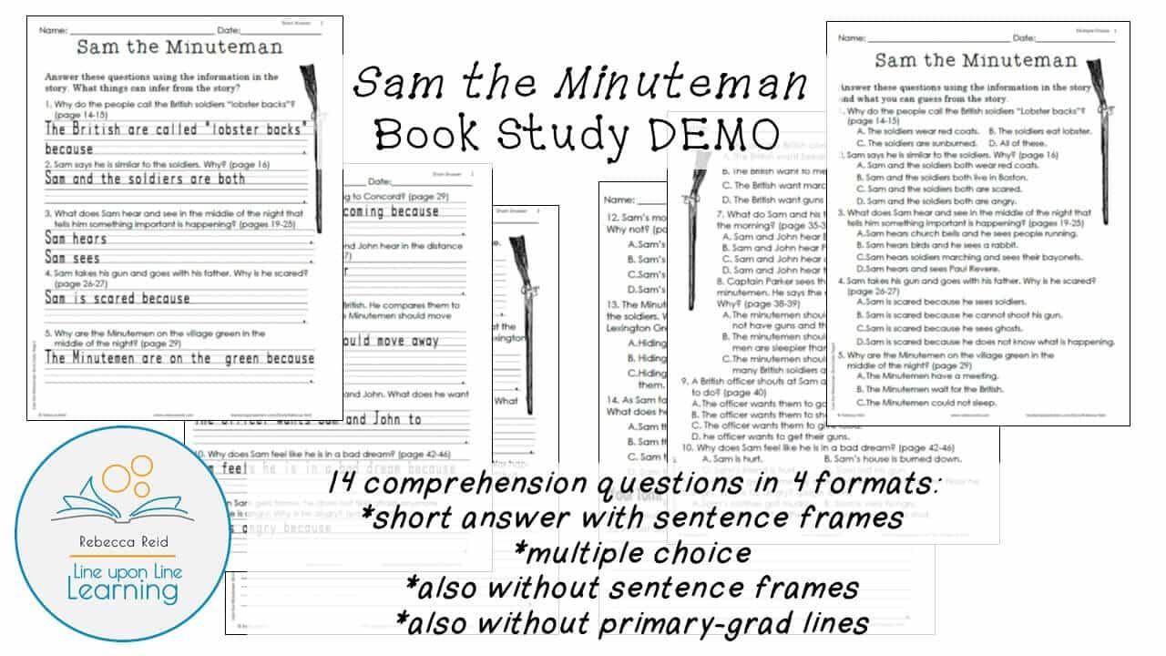 Book Study: Sam the Minuteman (An American Revolution