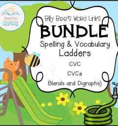 Spelling and Vocabulary BUNDLE (CVC [ 1096 x 1120 Pixel ]