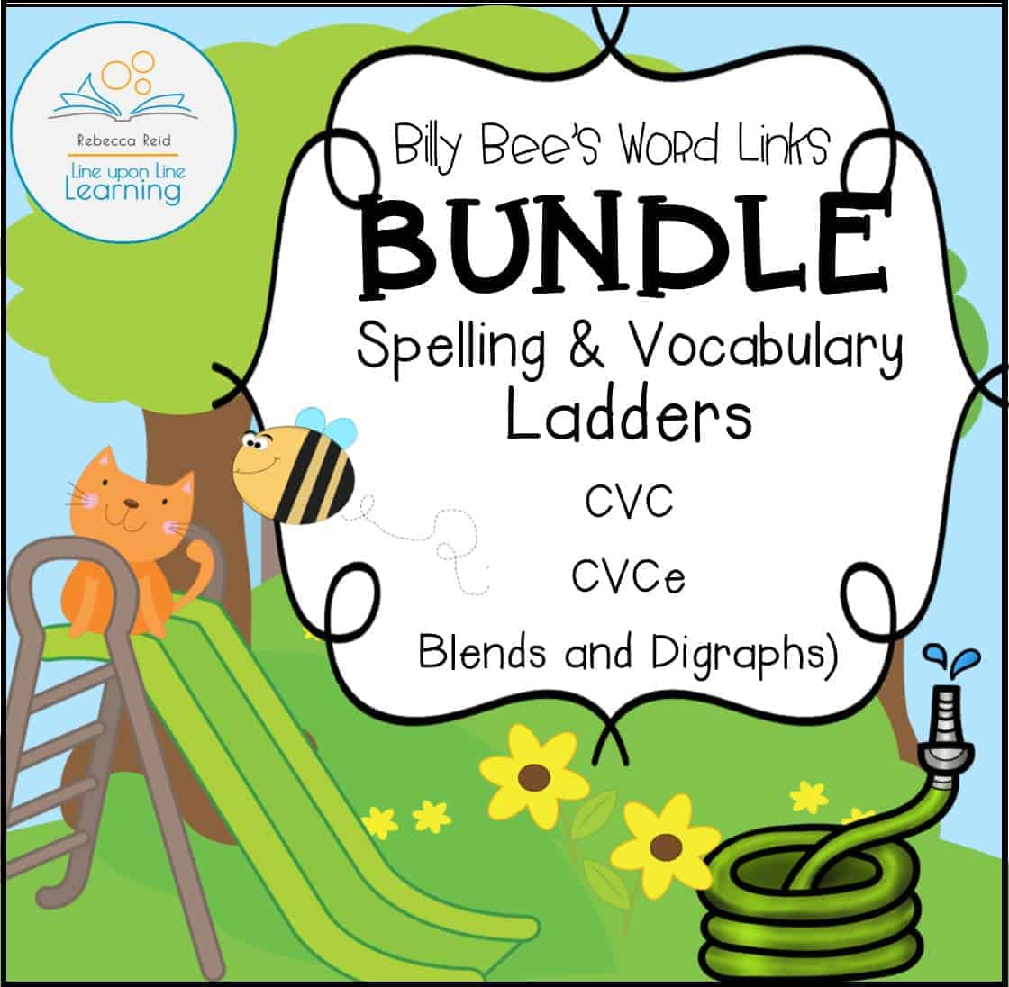 hight resolution of Spelling and Vocabulary BUNDLE (CVC