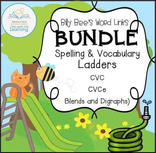 small resolution of Spelling and Vocabulary BUNDLE (CVC