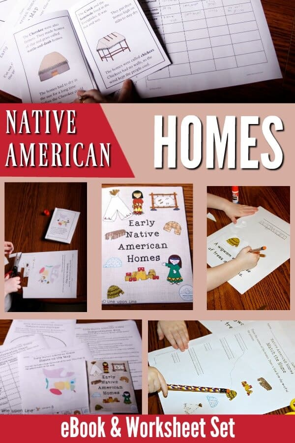 Learn about Native American by focusing on why they were built uniquely in each area of America. Map the Native American homes, compare/contrast, etc. with this ebook and worksheet set. Perfect for Native American Indian studies or Thanksgiving.