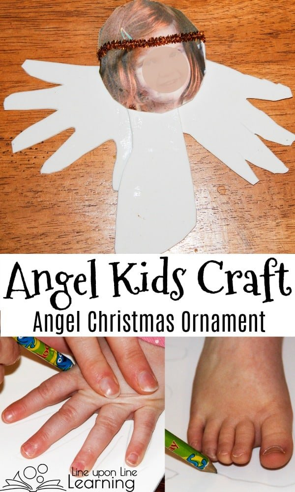 Celebrate the holidays or learn about angels with a personalized homemade angel ornaments craft.