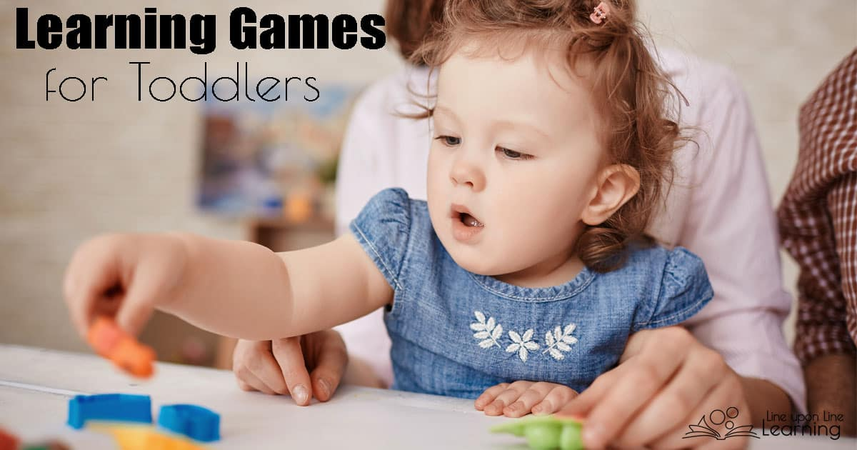 Asking questions and working together are just two aspects of these learning gam.es for toddlers