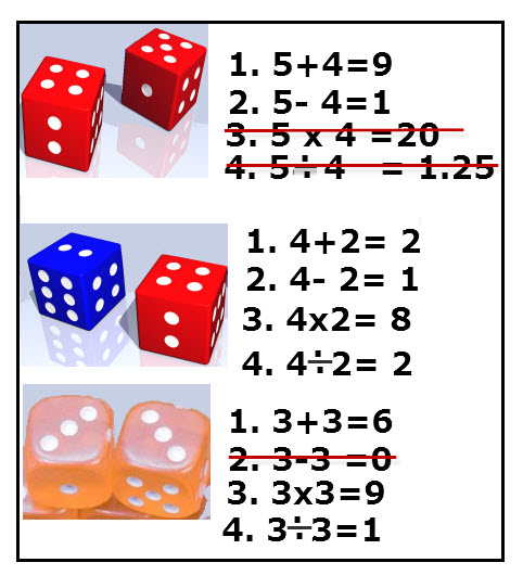Example for Math Function used in Math Game.