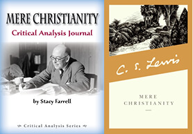 Mere Christianity Critical Analysis Journal & Softcover Print Bundle
