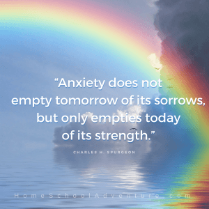 Anxiety does not empty