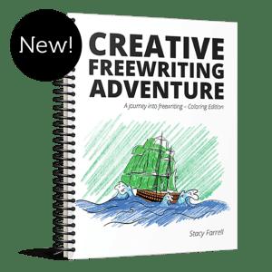 Creative Freewriting Adventure Coloring Edition