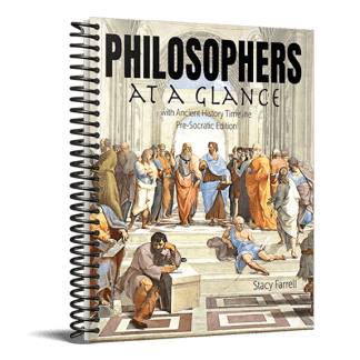 Philosophers At A Glance with Ancient History Timeline