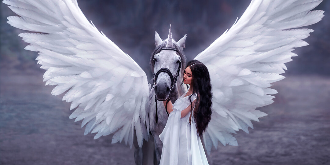 Winged Horse Freewriting