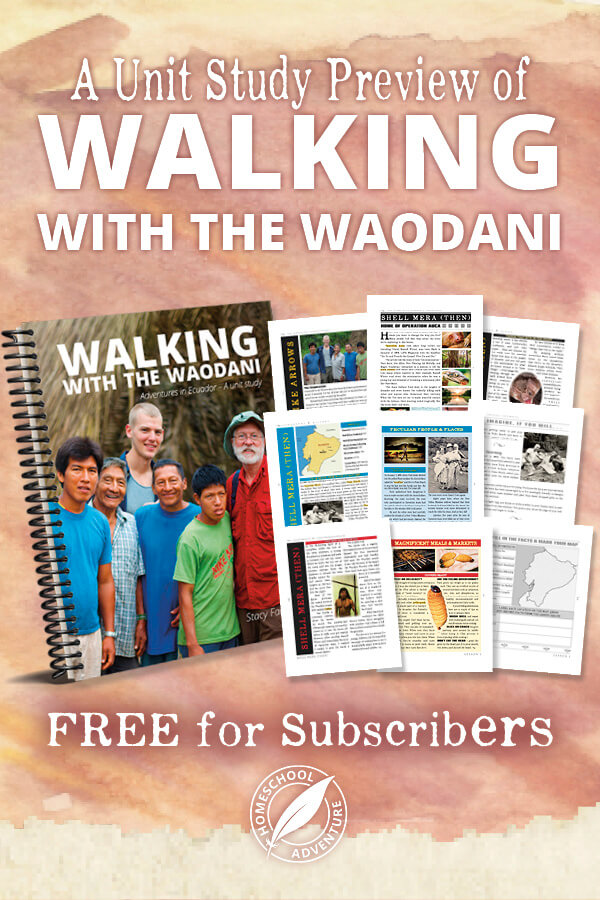 Walking with the Waodani with sample pages