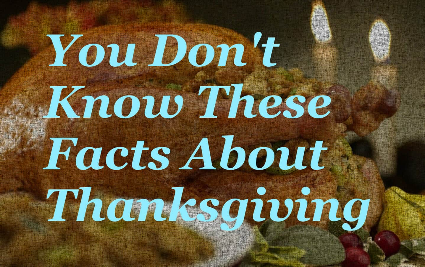 5 Thanksgiving Facts And Trivia You Definitely Don T Know