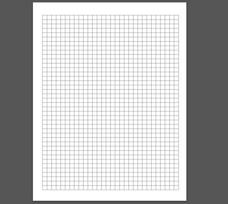 printable graph paper black and white