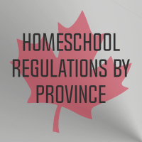 Homeschool Laws & Regulations, by Province