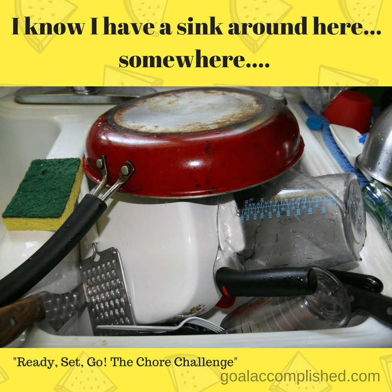 A sink piled full of dishes is a dreaded chore