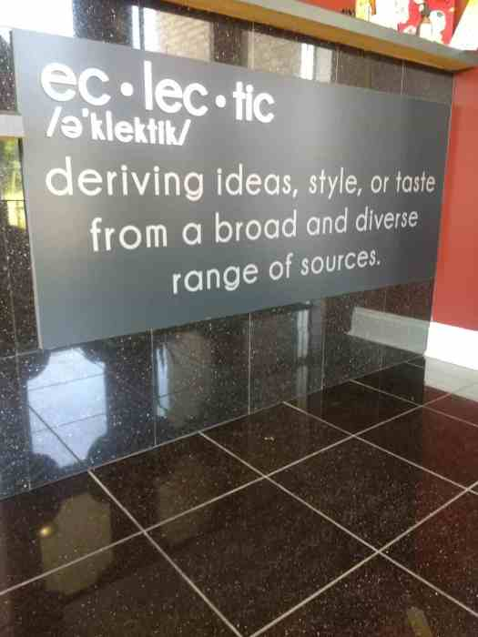 Eclectic Hair Studio in Latham New York is a value find! Eclectic means deriving ideas, style, or taste from a broad and diverse range of sources.