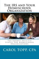 IRS and Your Homeschool Org cover