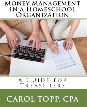 money management in a homeschool organization