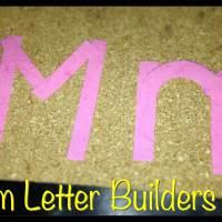 DIY Foam Letter Builders