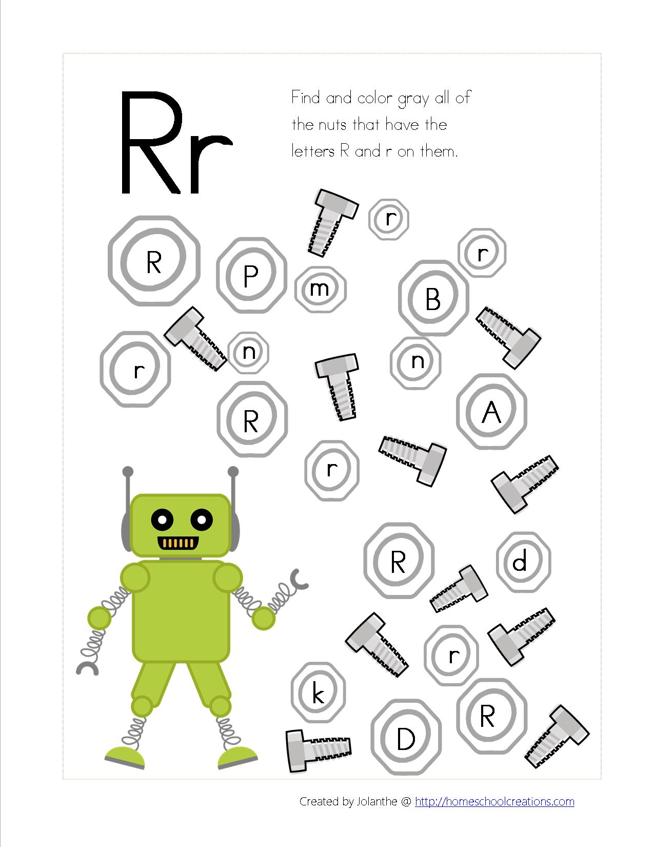 Robot Preschool Pack