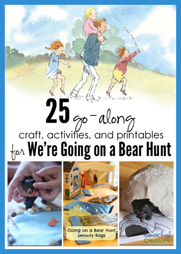 We Are Going On A Bear Hunt : going, Activities,, Crafts,, Printables, We're, Going