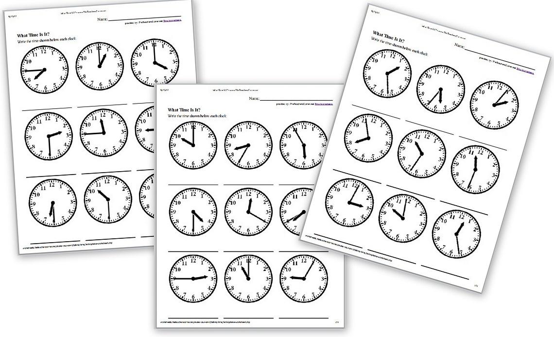 Ages 2-6: Clocks