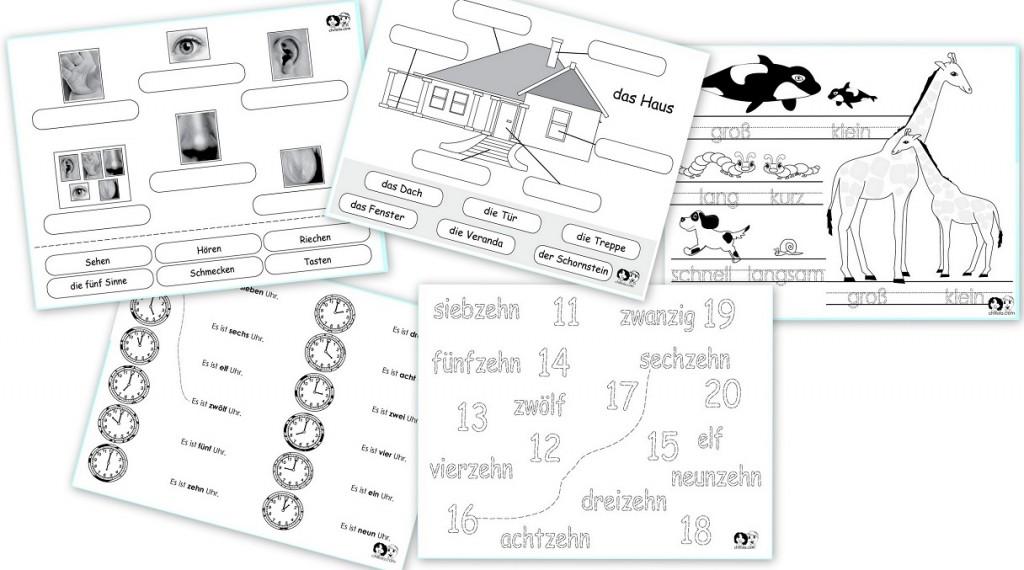 German For Beginners Worksheets. Worksheets. Ratchasima