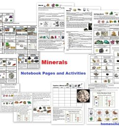 Free Rocks and Minerals Packet (25 pages) - Homeschool Den [ 791 x 1018 Pixel ]