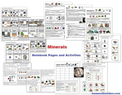 small resolution of Free Rocks and Minerals Packet (25 pages) - Homeschool Den