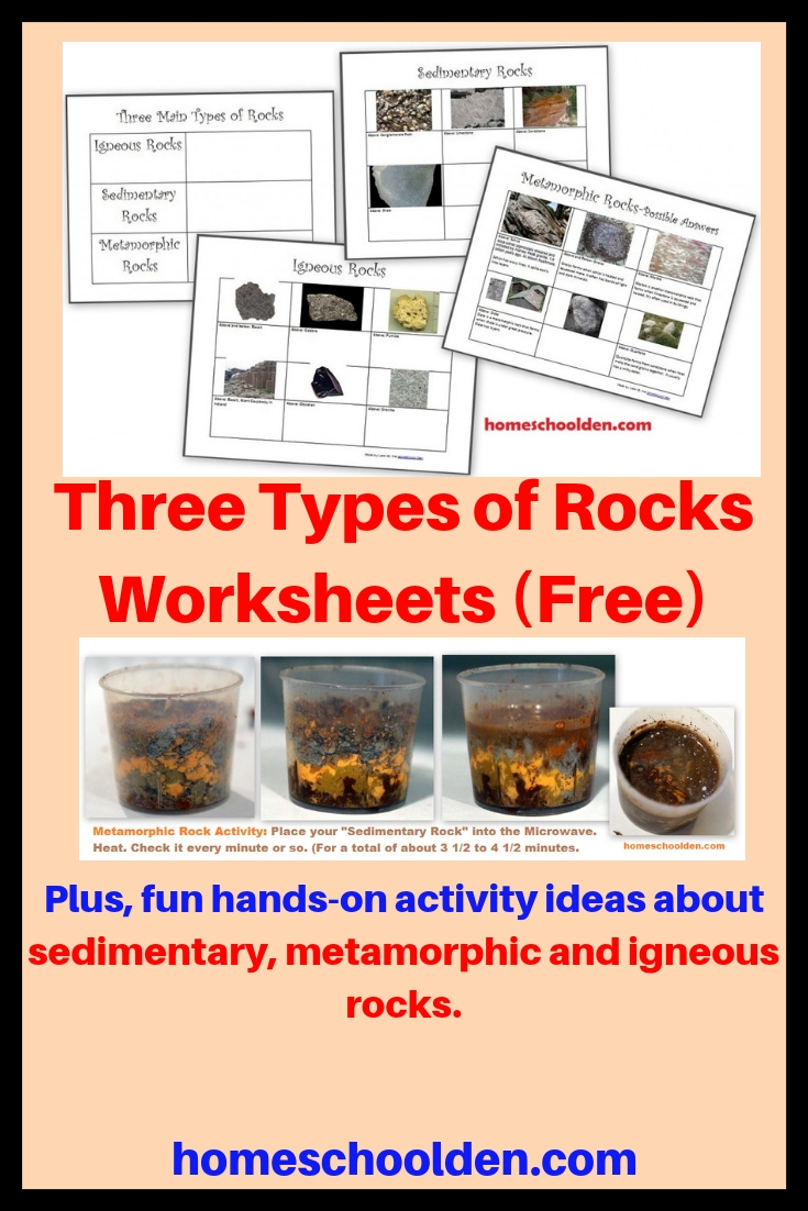 hight resolution of rocks and minerals anchor chart - Zerse