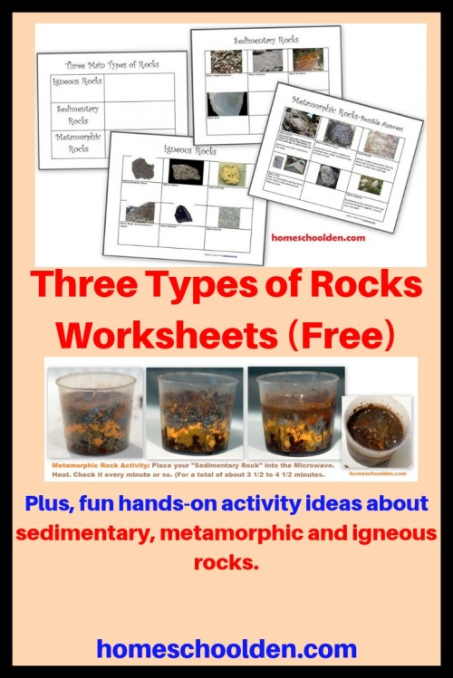 small resolution of rocks and minerals anchor chart - Zerse