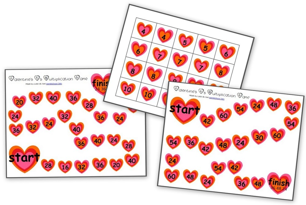 medium resolution of Holiday: Valentine's Day Archives - Homeschool Den