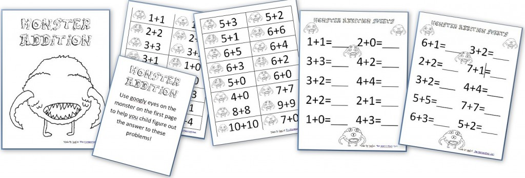 Skeleton Math Riddle (Free Math Worksheet for Addition