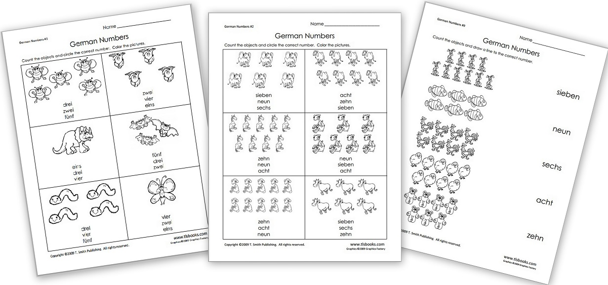 Free German Grammar Worksheets for Kids (sein