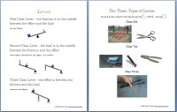 Simple Machines Packet (About 30 pages) - Homeschool Den