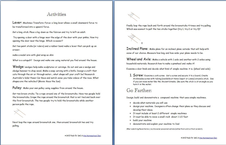 Worksheet Simple Machines Worksheets Grass Fedjp Worksheet Study Site