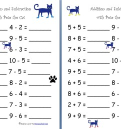 Free Addition And Subtraction Worksheets For Grade 1 [ 1323 x 844 Pixel ]